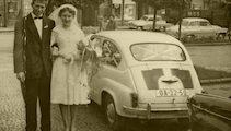 1969 – Sally & David Start Their Married Life